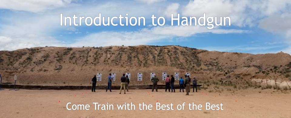 Introduction to Handgun Course H101 | QPro Quiet Professional Defense